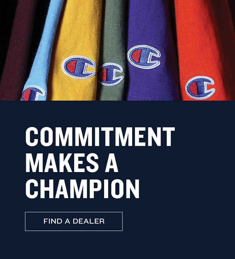 Commitment Makes a Champion - Find a Dealer