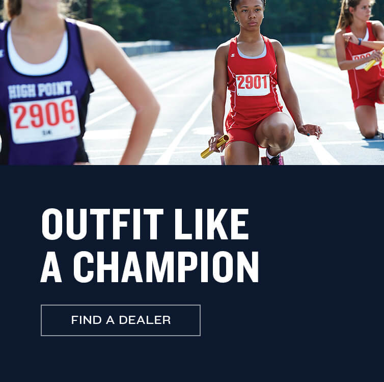 Outfit Like a Champion - Find a Dealer